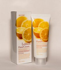 3W CLINIC Крем для рук Moisrurzing Hand Cream [Lemon], 100 мл