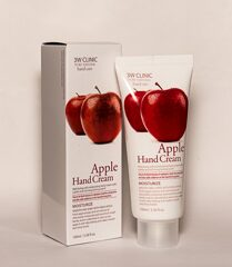 3W CLINIC Крем для рук Moisrurzing Hand Cream [Apple], 100 мл