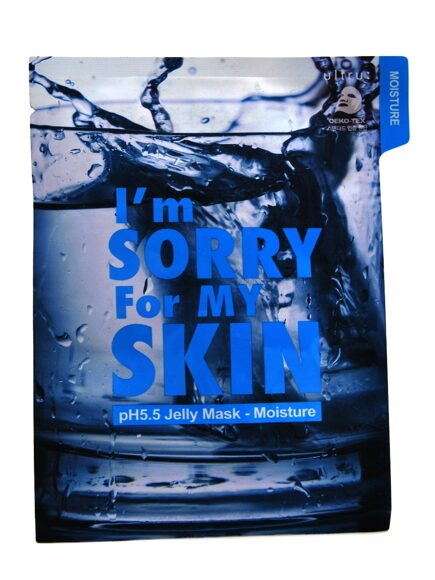 I'm Sorry for My Skin. Тканевая маска pH5.5 УВЛАЖНЯЮЩАЯ,  pH5.5 Jelly Mask - Moisture, 33 мл.