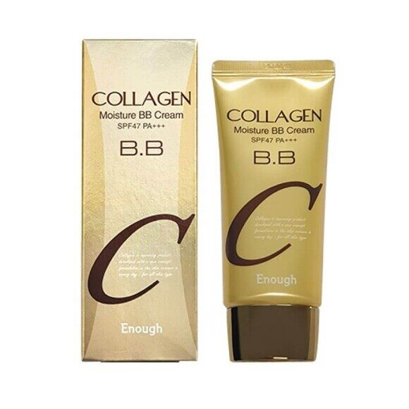 [Enough] ББ-крем с экстрактом коллагена Collagen bb cream, 50 мл